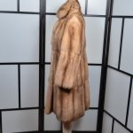 R & L Rosenberg 6 Lenhart Mantel Coat Sable Zobel Canada Pelz 34 (3)
