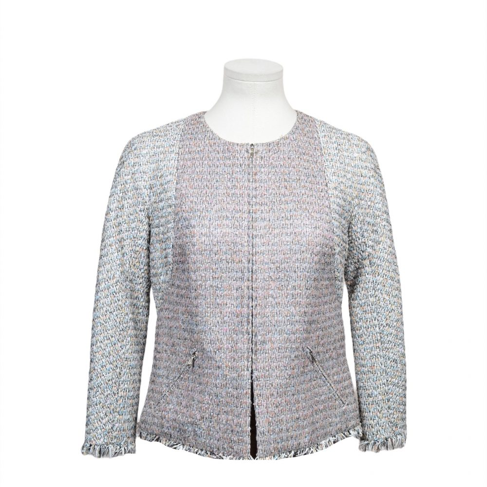 chanel Jacke blazer 36 coton poly 1200