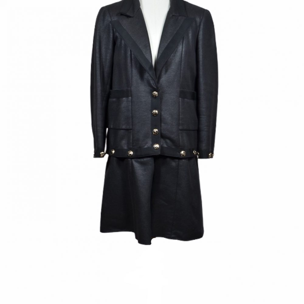 chanel coat jacket 38