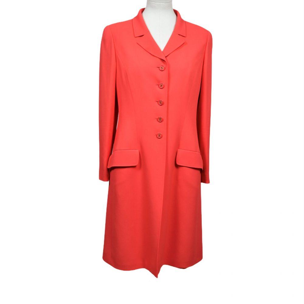 chanel vintage dress long jacket 40