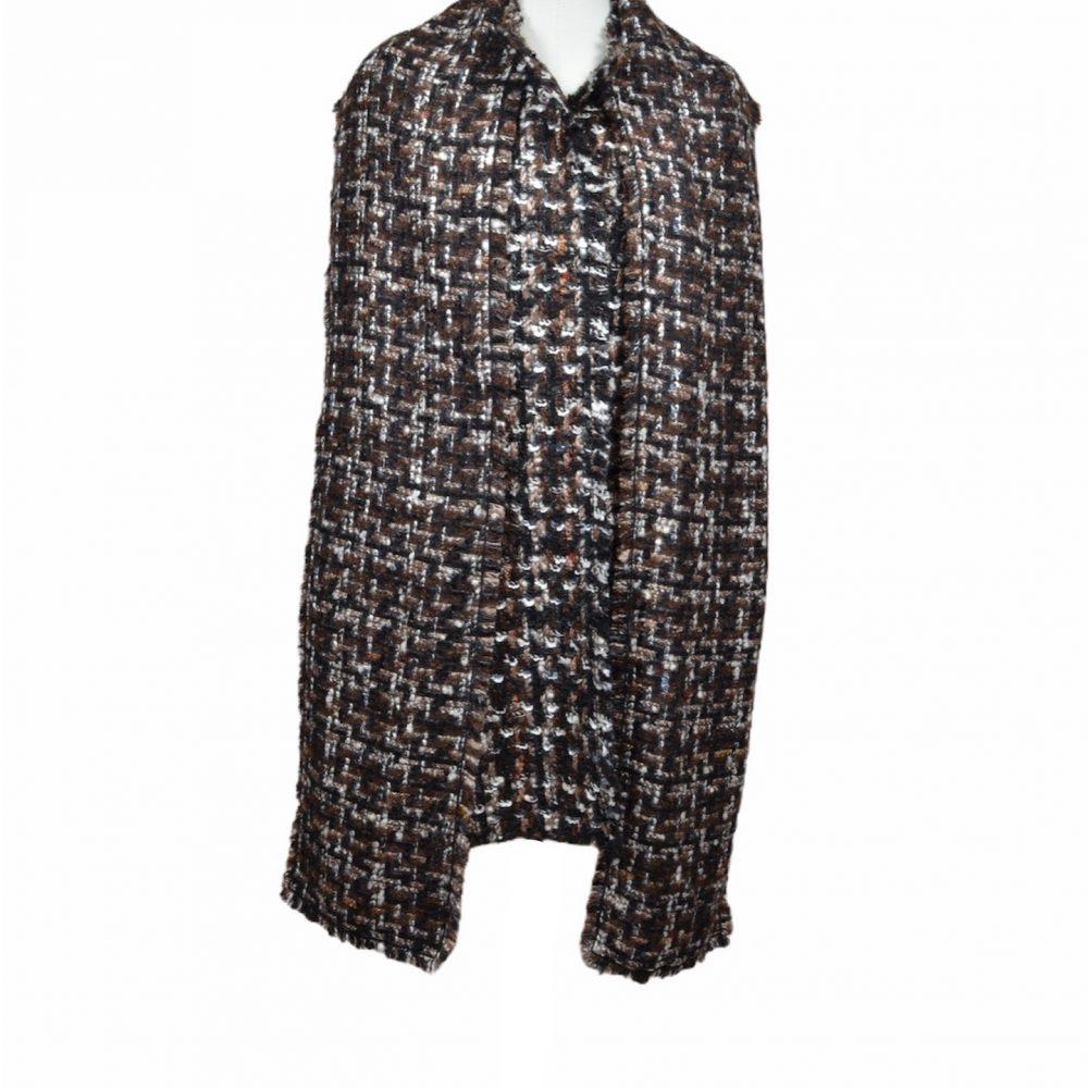 dolce & gabbana coat mantel boucle 38