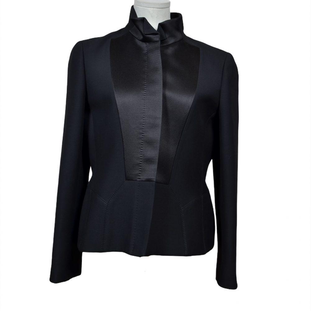 gucci blazer jacke schwarz black 38