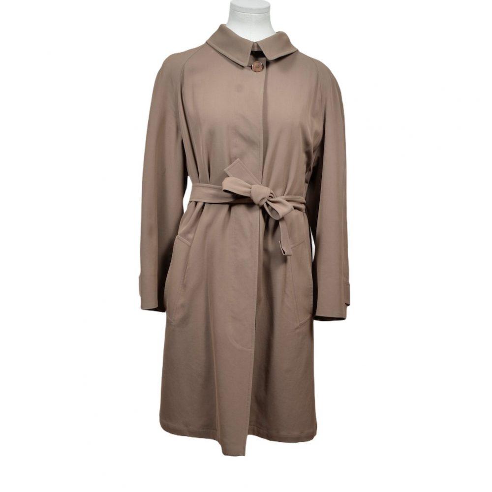 hermes coat mantel coton 38