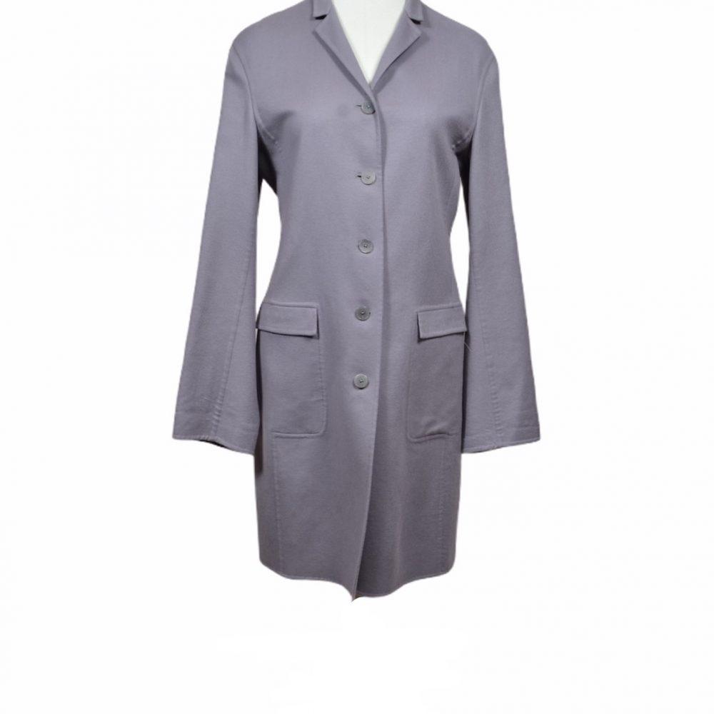 jil sander mantel coat cashmere 38