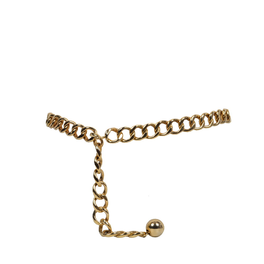 Chanel Gürtel Gold Mit Kugel 600 ( 90cm ) Ewa Lagan Second Hand Frankfurt