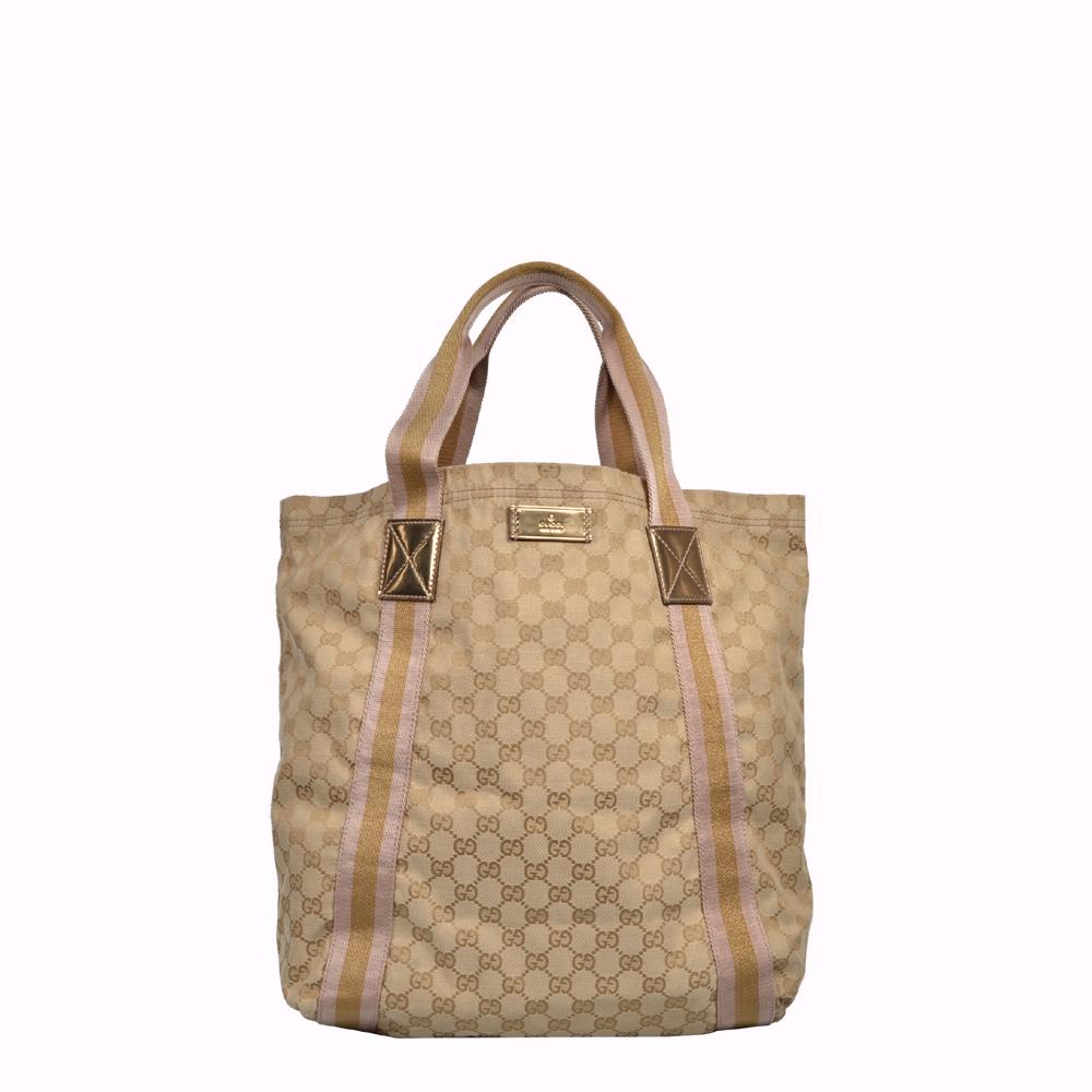 Gucci Tasche Bag Shopper Tote Canvas Gussissima GG Logo