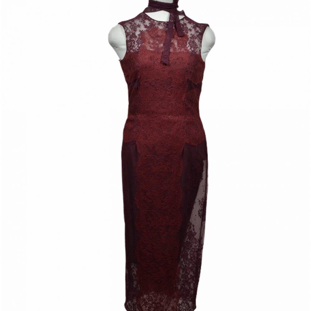 Valentino Kleid dress 38 Spitze lace shanghai ewa lagan frankfurt secondhand