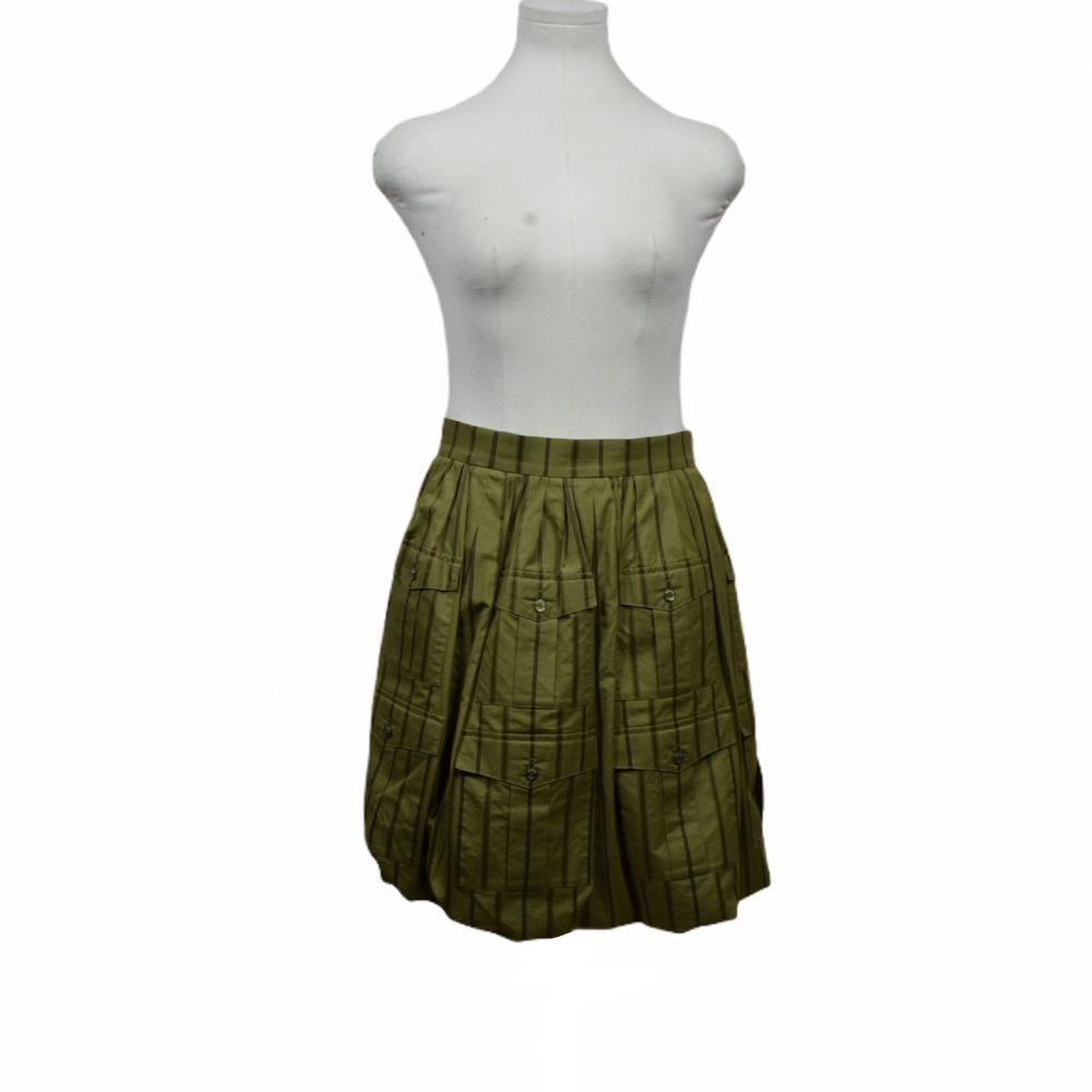 chanel rock coton 36 500 skirt ewa lagan frankfurt secondhand