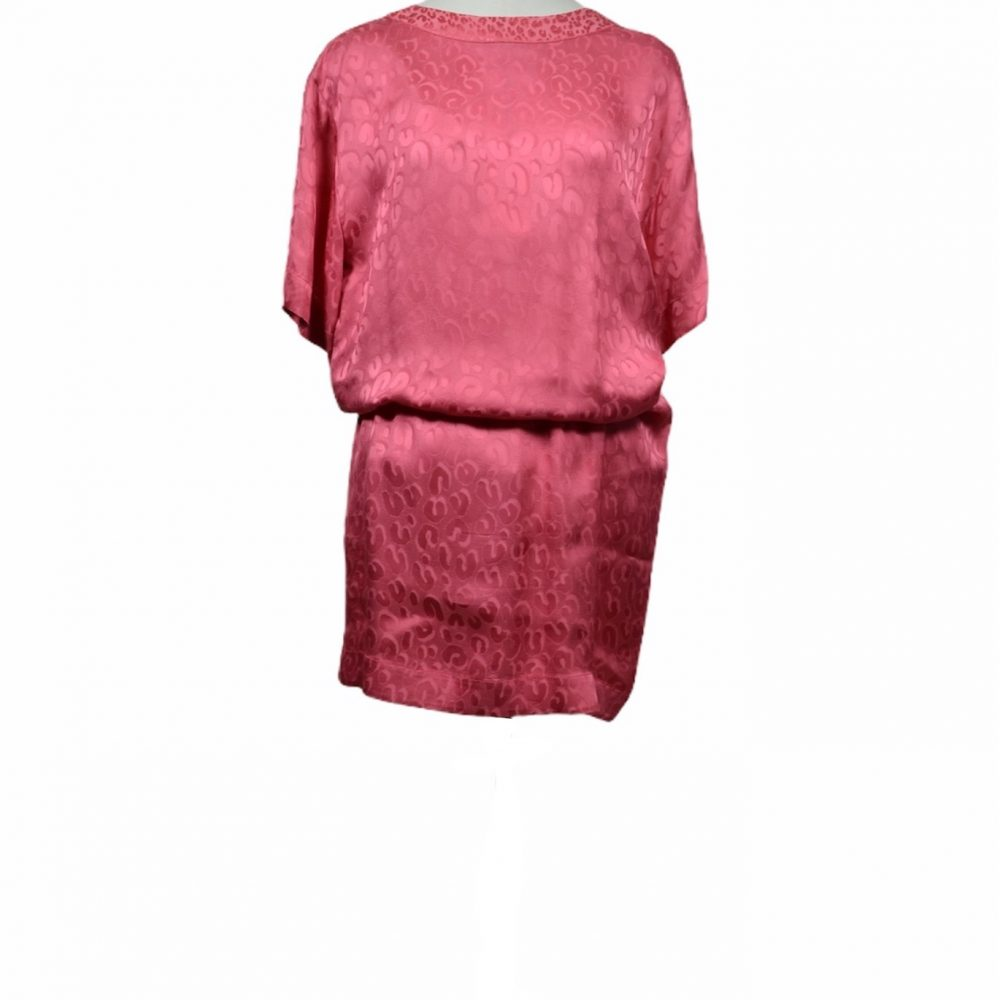 louis vuitton kleid dress leo seide silk pink 500 ewa lagan frankfurt secondhand