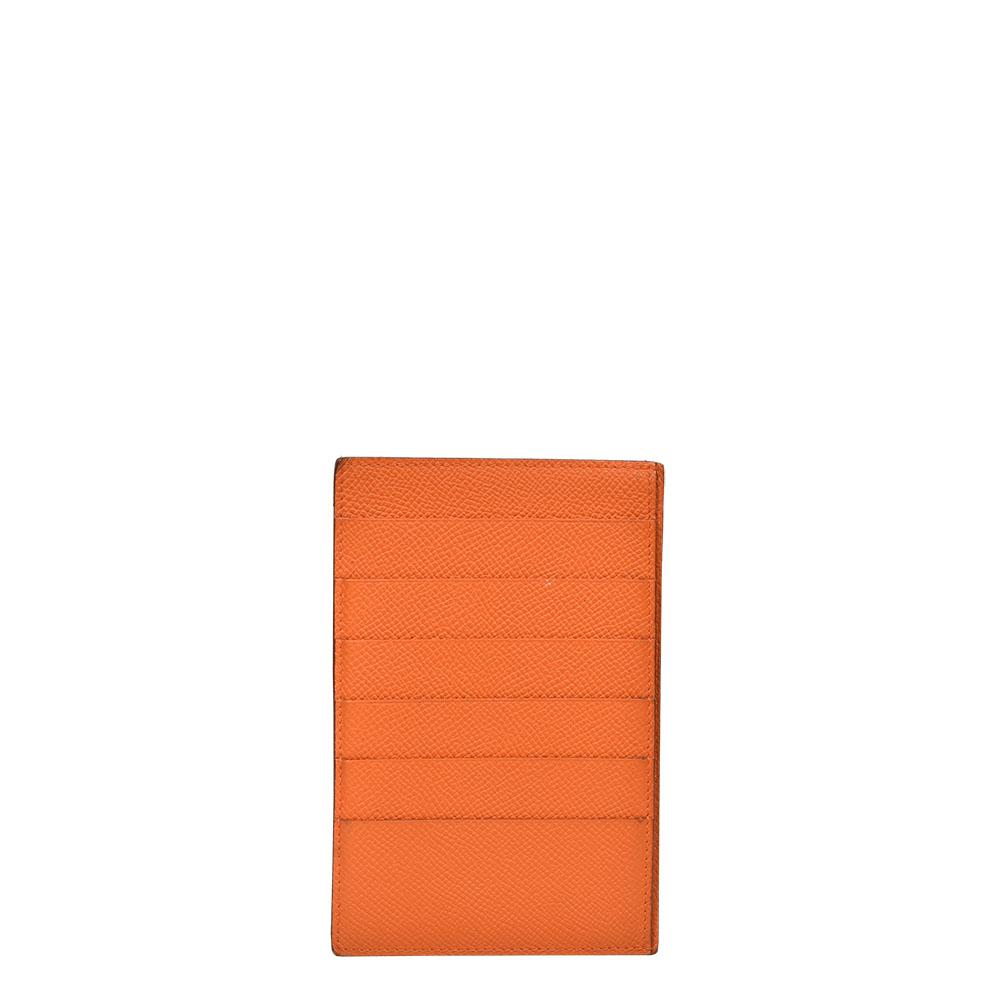 Hermes Kartenetui 6 Kreditkarten Epsom orange