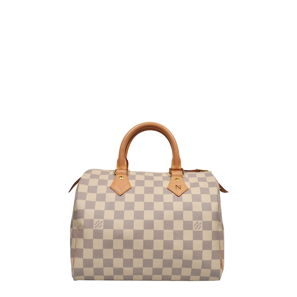 Louis Vuitton Tasche Bag Speedy 25 Damier Azur