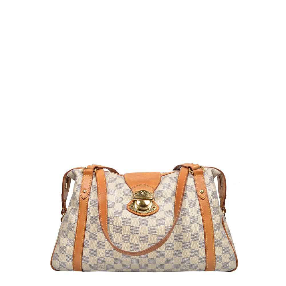 Louis Vuitton Tasche Bag Stresa Damier Azur Shopper