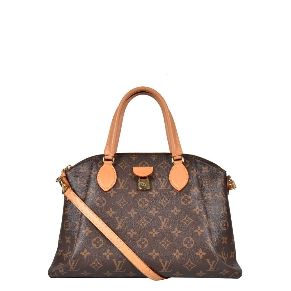 Louis Vuitton Tasche Rivoli LV Monogram braun beige