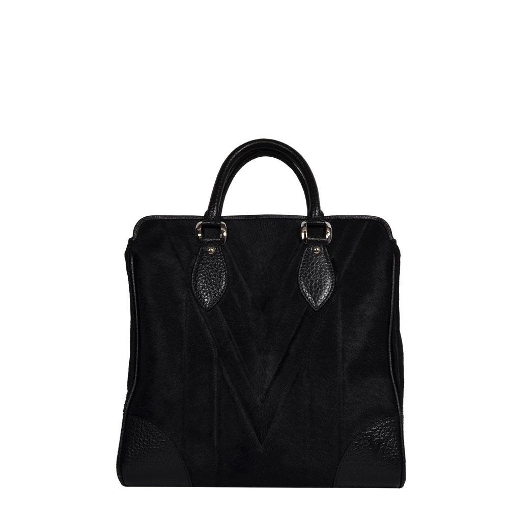 Louis Vuitton Whistler Collection Limited Edition Black Horse Hair Tote bag